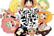 one piece :)