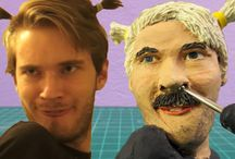 Sculpting youtubers