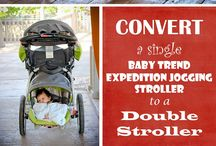 Convert Single to Double Strollers to Triple Strollers / Different ways to convert single to double strollers or double strollers to triple strollers. I also included compact double and triple strollers designs that I like.