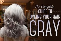 hair going gray