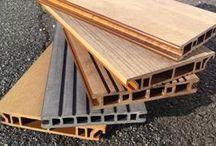 Matériaux de construction / Le bois composite