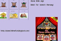 Speech Therapy- Fairy Tales/Nursery Rhymes / Fairy Tales & Nursery Rhyme activities for speech/language therapy