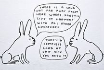 david shrigley / by Gaelle Mellis