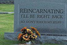 My tombstones