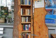 AKLIM FİKRİM TASARIM: Ağaç Kitaplık