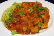 Recepten - curry