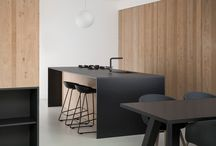 Black + Wood| Modern Kitchen Design Ideas