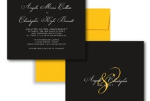 Black and yellow wedding L+M
