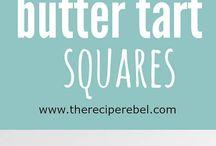 butter tart bars