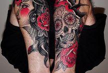 tatuajes en los brazos / by Nikole Alejandra