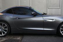 BMW z4 black windows