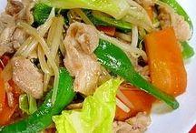 野菜炒め、プロ直伝