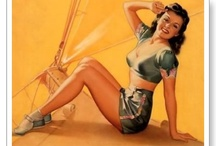 Pin-up Posters Vintage & Newer / by Eileen Miller