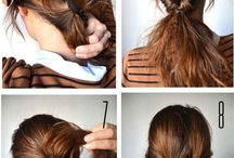 Hairstyles, make up and nails