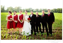 Colour: Ruby Red wedding