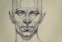 рисунок головы