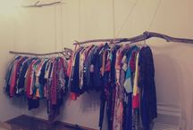 SHOP INTERIOR / THIS IS OUR DREAM! ONE DAY WE'LL MOVE OUR ONLINE VINTAGE BOUTIQUE TO THE LOCAL SPACE