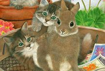 Anne Mortimer's cats
