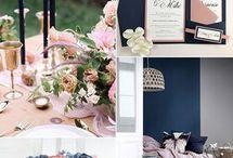 Hochzeit Farben Trends 2018