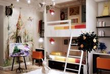 Kids room- shared space / by Rachel Lugo