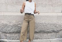 loose pants outfit how to wear