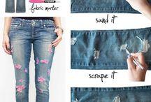 Jeans rasgados / Jean