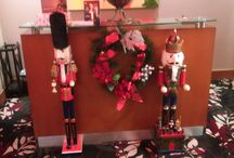 Festival of Trees at the Hilton Hotel 2017 / I went for more work related training (Chief Shop Steward) Nov 2017. These pictures were taken in the lobby and second floor of the Hilton Hotel in Burnaby.
