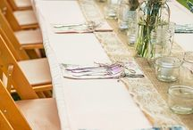 Rentables: Burlap / This gallery shows how we, and our clients, have used our burlap for special events