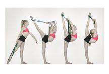 Split, handstand