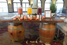 Wine Barrel Party and Wedding Ideas / Creative ways to use wine barrels at special events and weddings