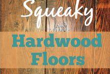 squeaky floors
