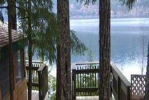 "Lakeside Resort / Lakeside getaway -  Friends and Family ~ R&R,  fishing, swimming ~ Good Food & Fun / by Rachael Powell - ""MyssP"""