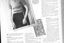 Vintage jumper patterns