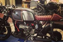 Bmw caferacer / Cafe racer ideeen