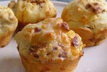 kaas en bacon muffins