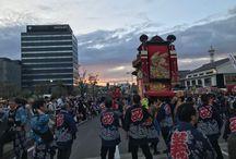 山車祭り(Montaigne voiture festival)