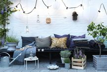 Roof Top Garden  / I'm planning to have a roof top garden in the near future - here is what inspires me.