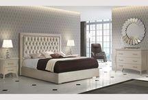 Modern Contemporary Microfiber Ivory Bed Florida