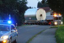 #Schwertransporte - Pfaff Logistik / Hier sehen Sie Bilder von #Schwertransporten - schon beeindruckend, oder?