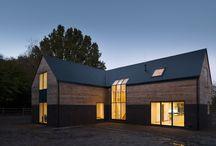 private houses /// scandinavian architecture / residental scandinavian minimalism