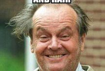 Massage humor / Everyone needs a good laugh sometimes