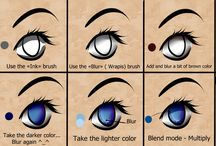 Eyes Color Tuto