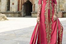 Salwar Kameez Supplier Wholesale Collection / The kameez is usually seen straight and flat, but there are a variety of styles. Modern kameez styles are more likely to have European-inspired set-in sleeves. If the tailor's taste or skill are displayed, it will be seen in the shape of the neckline and the decoration of the kameez. Traditionally, the female kameez was a modest article of clothing, but modern versions of the female kameez can be much less modest than traditional versions.
