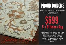 People We Support / At James Carpets of Huntsville, we believe in the importance of giving back to our community and are proud to donate our products, services and funds whenever we can.