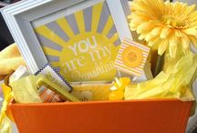 Gift Baskets / Suggestions for preparing a gift basket.♡