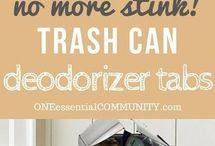 Trashcan smellies