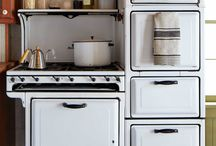 Kitchen - old features from Country Living