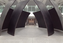 Toronto Airport / Richard Serra at Toronto Airport, http://www.torontopearson.com/en/shopdinerelax/art-exhibits/# / by Museum Planning, LLC