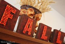 Fall decor / by Jamie Clark
