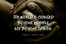 Inspiring quotation KdL365 / On this world, we confronted with the change of life we living, the things on Earth. But it's very strange we only see those things, it seems that this is a conscious character must be!! 'THE WORLD CHANGES' and it's written in the way of wisdom